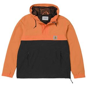 Carhartt Nimbus Two Tone Pullover Jacket Jaffa/Black Mesh Lining