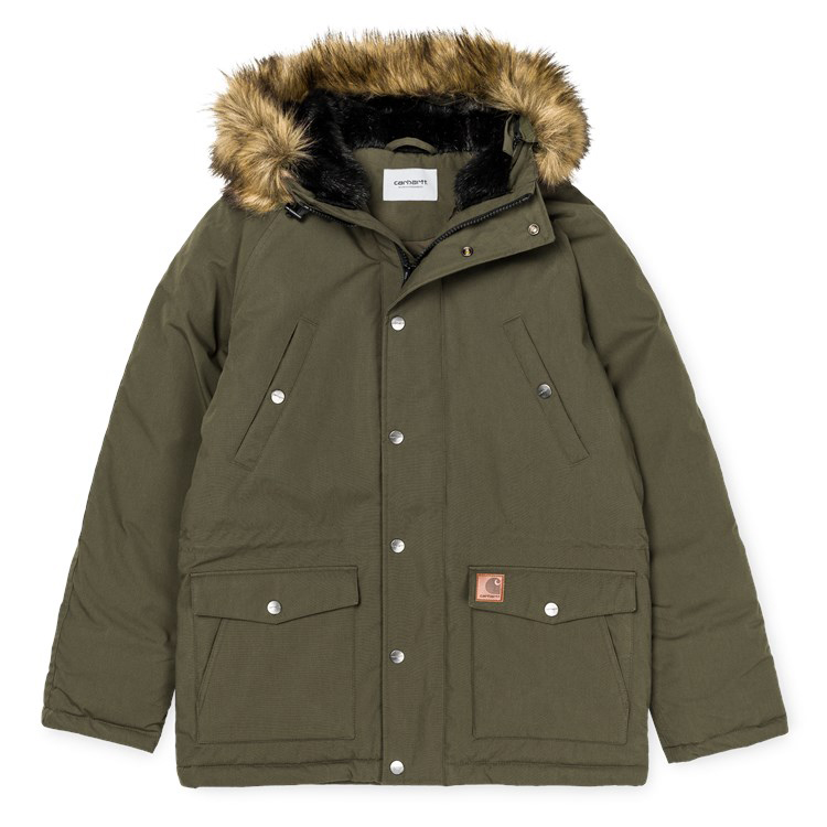 Carhartt Trapper Parka Jacket Cypress/Black