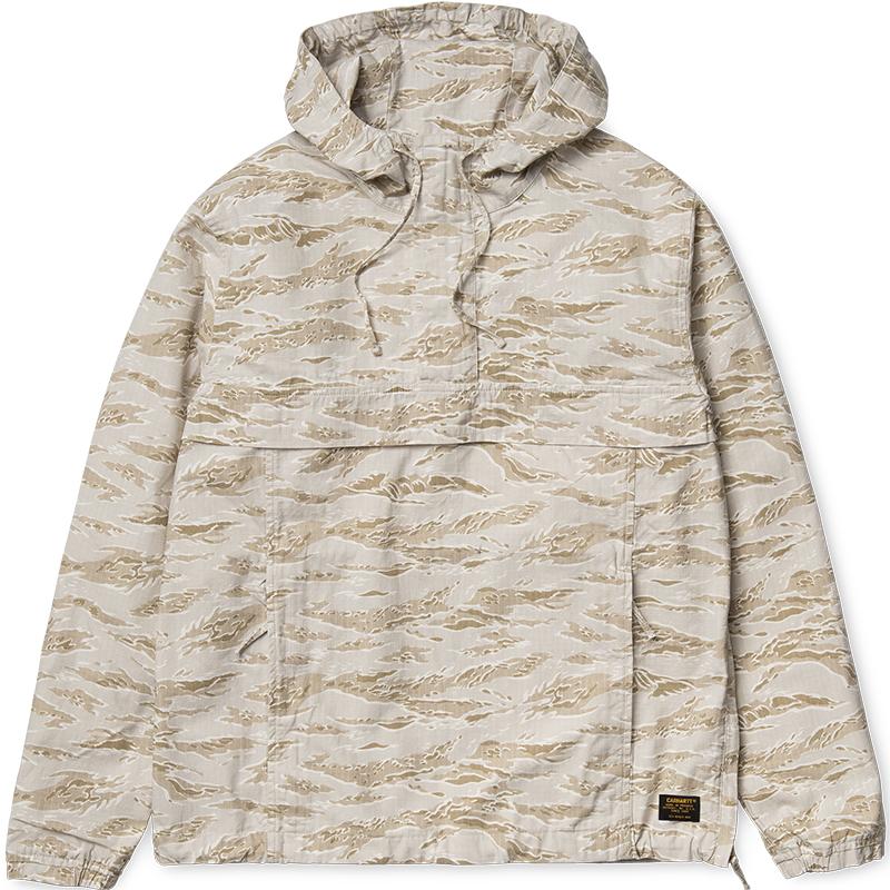 Carhartt Vega Pullover Jacket Camo Tiger/Desert Rinsed