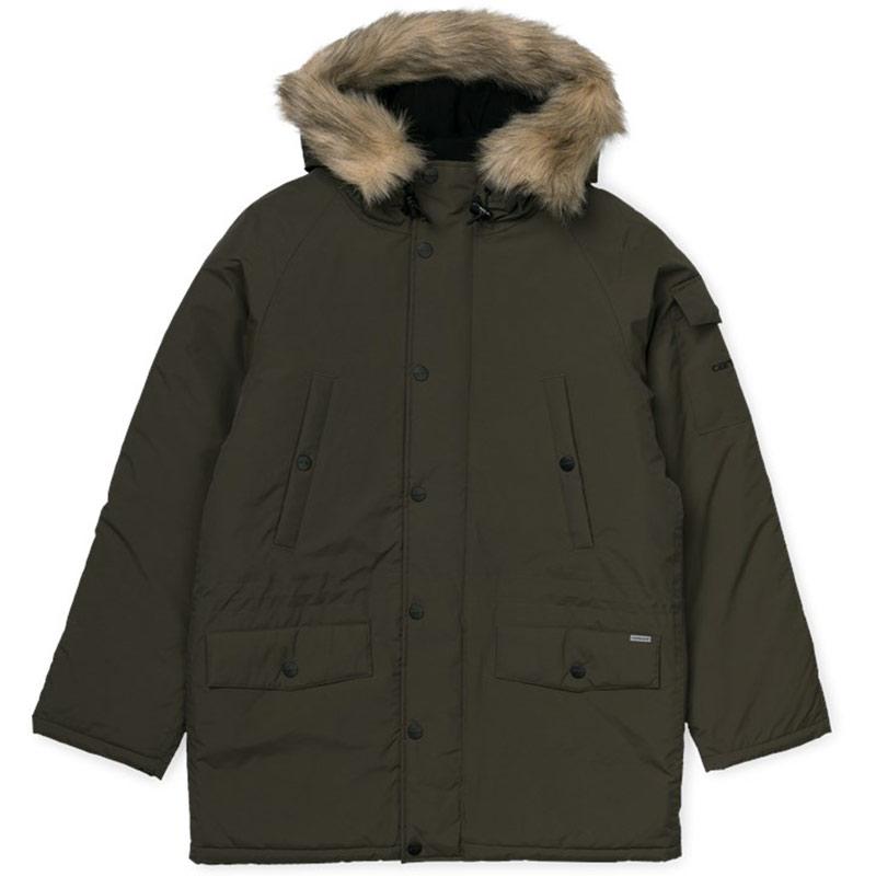 Carhartt WIP Anchorage Parka Jacket Cypress/Black