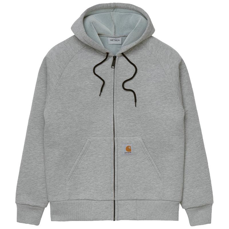 Carhartt WIP Car-Lux Hooded Jacket Grey Heather/Grey