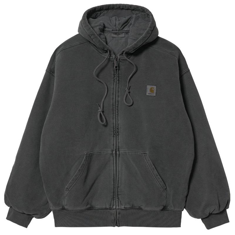 Carhartt WIP Vista Zip Hoodie Jacket Soot