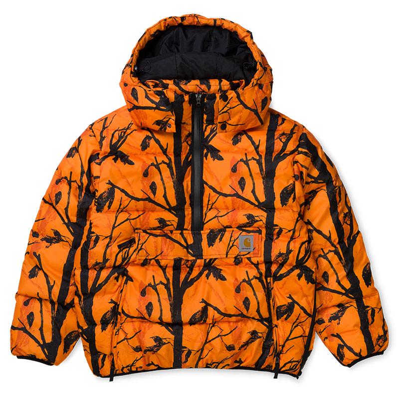 Carhartt WIP Jones Pullover Jacket Camo Tree Orange