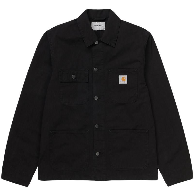 Carhartt WIP Michigan Chore Coat Jacket Black