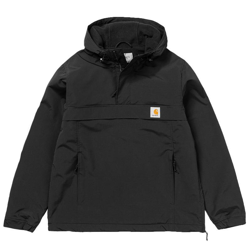 Carhartt WIP Nimbus Pullover Jacket Black - Winter