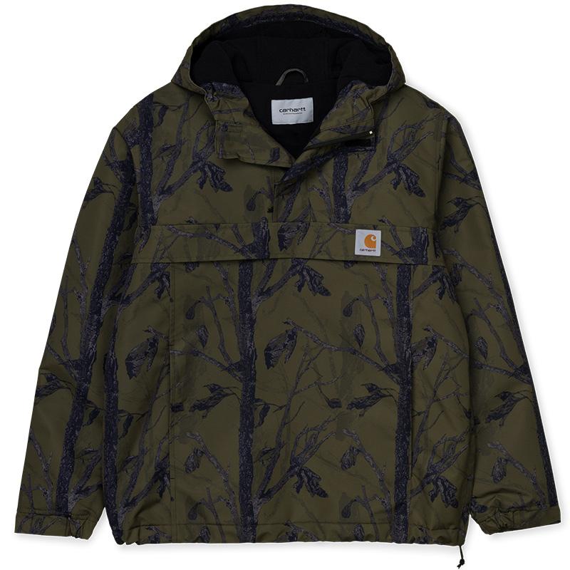 Carhartt WIP Nimbus Pullover Jacket Camo Tree Green - Winter