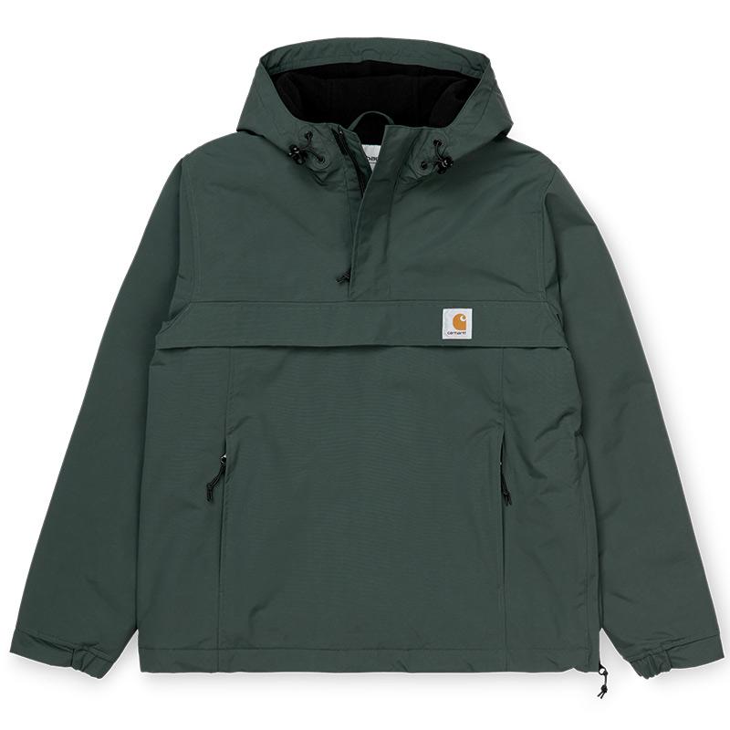 Carhartt WIP Nimbus Pullover Jacket Dark Teal - Winter