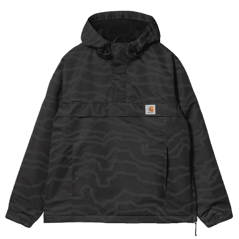 Carhartt WIP Nimbus Pullover Jacket Deep Freeze Black/Reflective - Winter