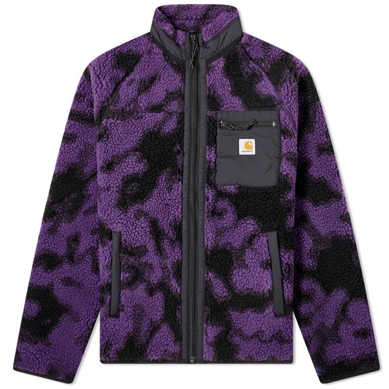 Carhartt WIP Prentis Liner Jacket Camo Blur Purple