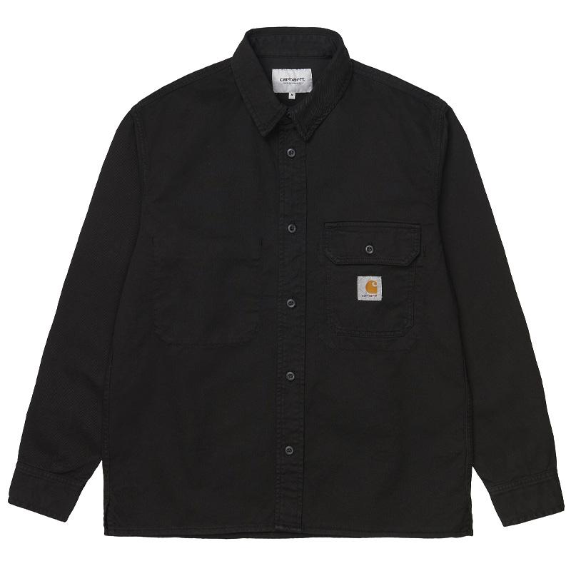 Carhartt WIP Reno Shirt Jacket Black