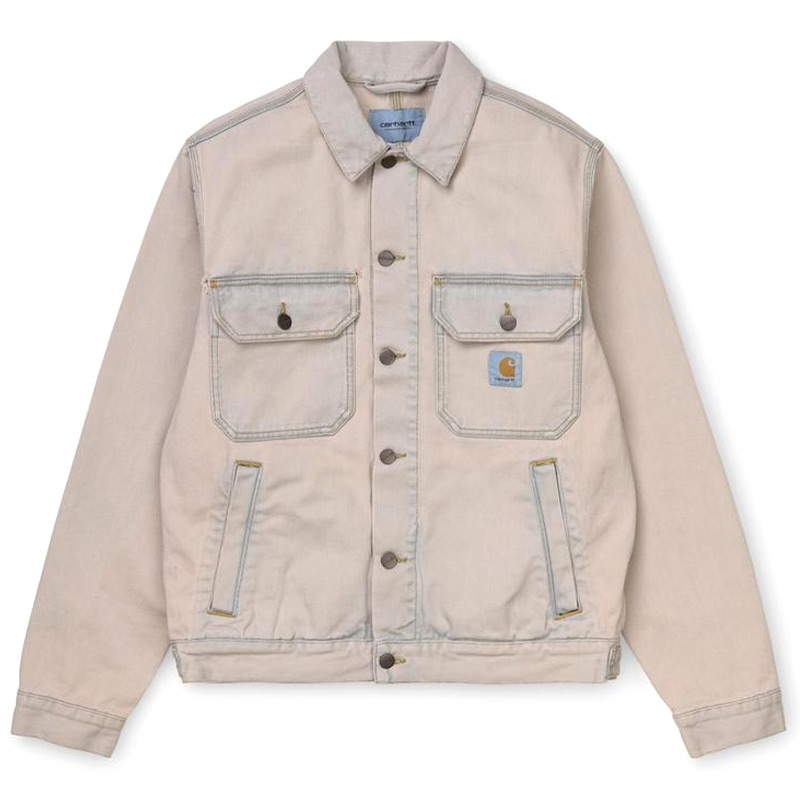Carhartt WIP Stetson Jacket Blue Sand Bleached