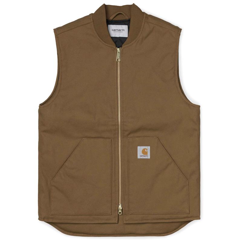Carhartt WIP Vest Hamilton Brown Rigid