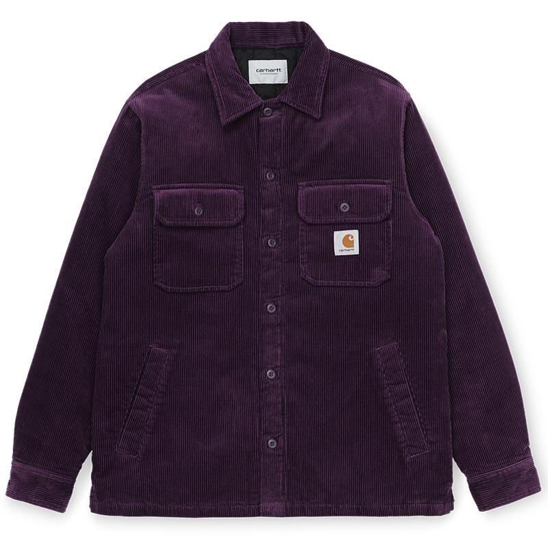 Carhartt WIP Whitsome Cord Shirt Jacket Boysenberry