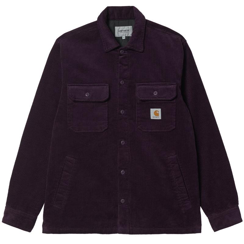 Carhartt WIP Whitsome Shirt Jacket Dark Iris