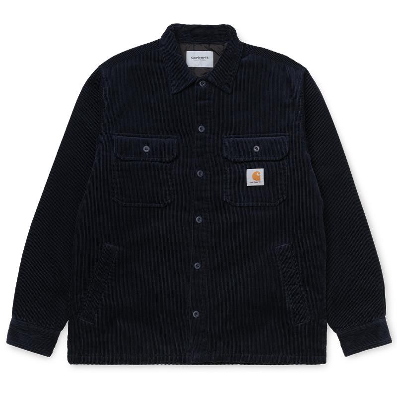 Carhartt WIP Whitsome Shirt Jacket Dark Navy