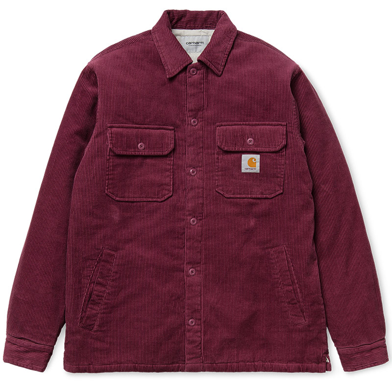 Carhartt WIP Whitsome Shirt Jacket Dusty Fuchsia