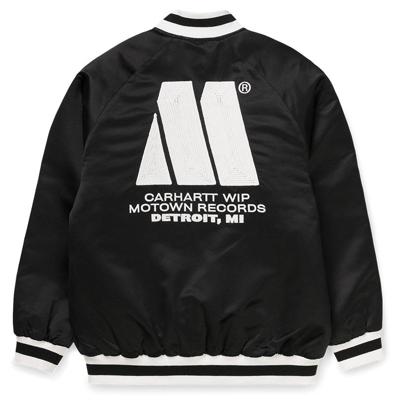 Carhartt WIP X Motown Varsity Jacket Bla M