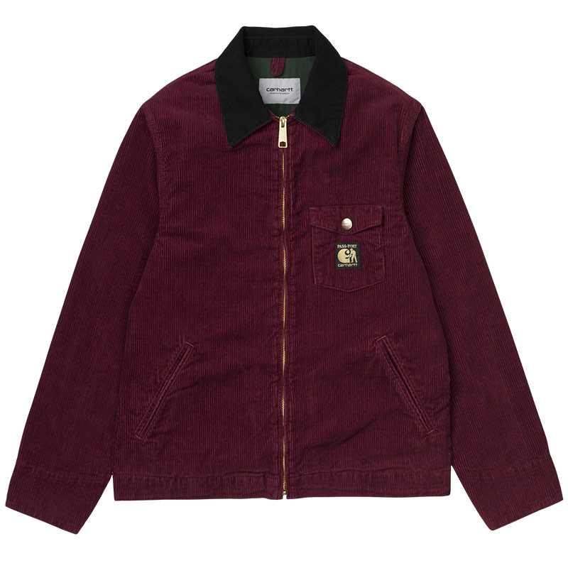 Carhartt WIP X Pass Port Jacket Burnt Red Rinsed