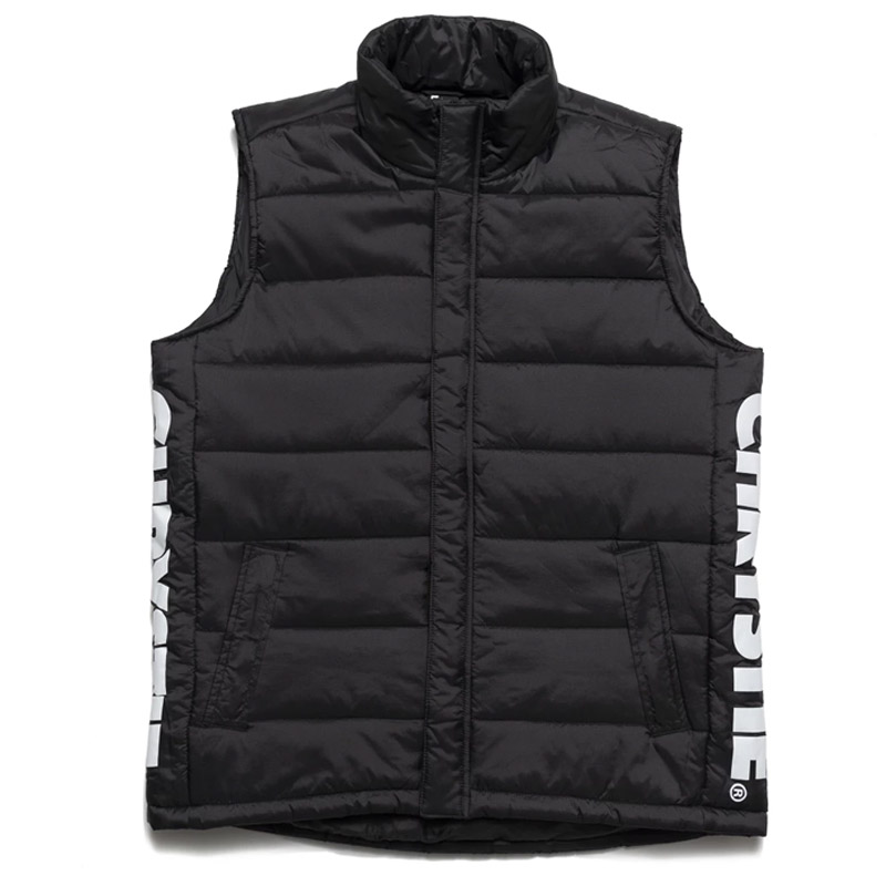 Chrystie NYC Og Logo Vest Black