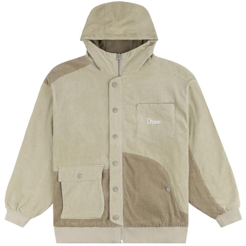 Dime Corduroy Hooded Jacket Tan