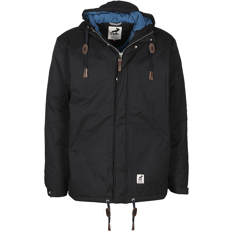 Fat Moose Sailor Jacket Black