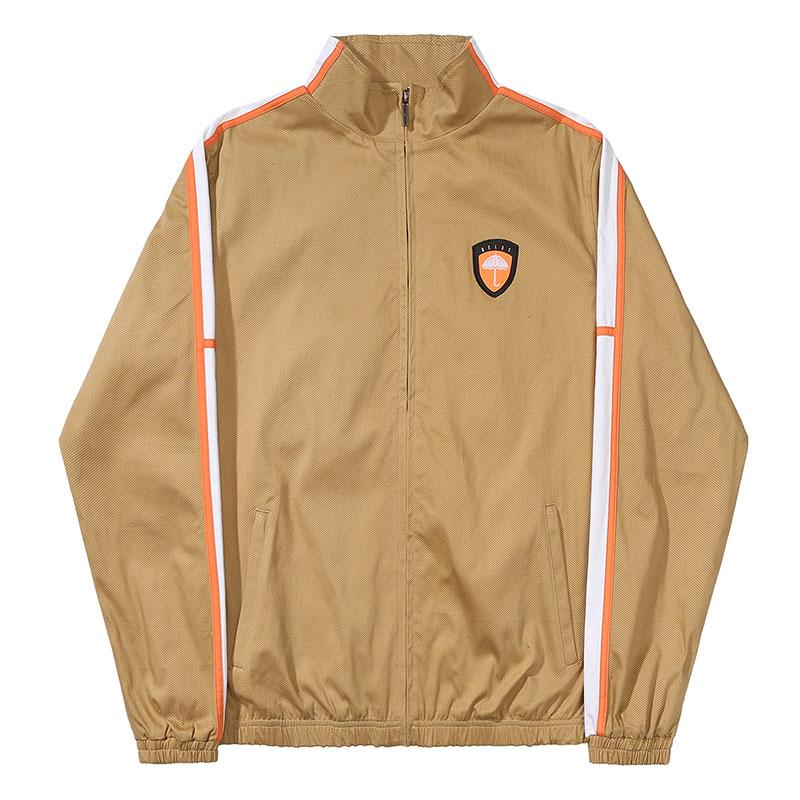 Helas Bench Tracksuit Jacket Beige