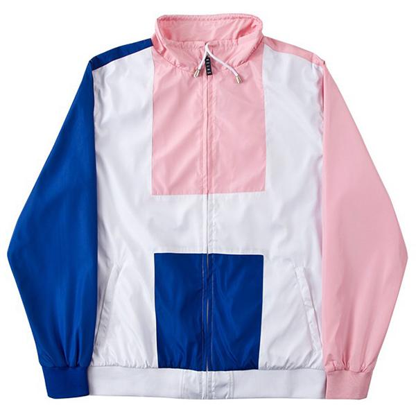 Helas Big H Tracksuit Jacket Pink