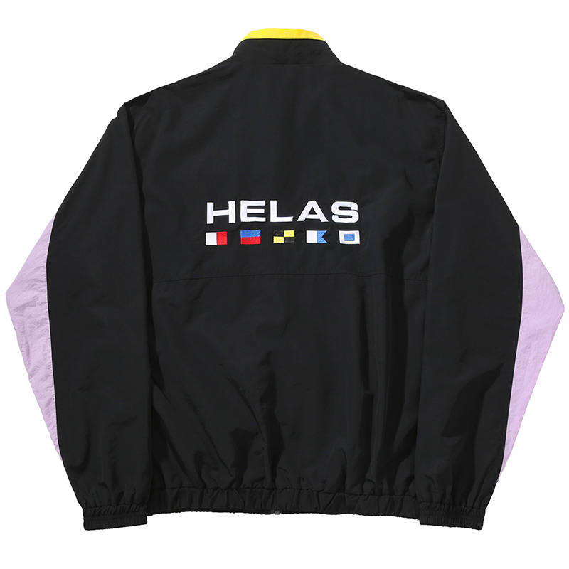 Helas Nautique Tracksuit Jacket Black