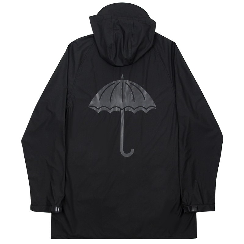 Helas Paratic Rain Jacket Black
