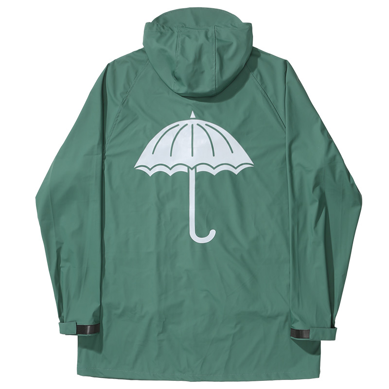 Helas Paratic Rain Jacket Green