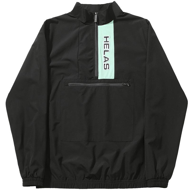 Helas Pese Tracksuit Jacket Black