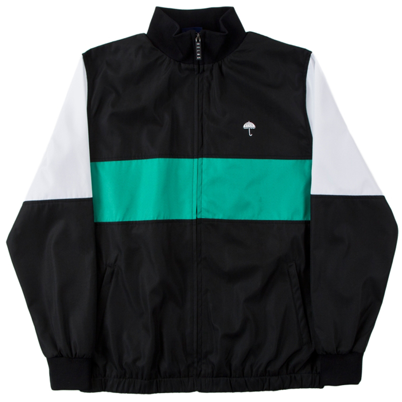 Helas Turbo Tracksuit Jacket Black