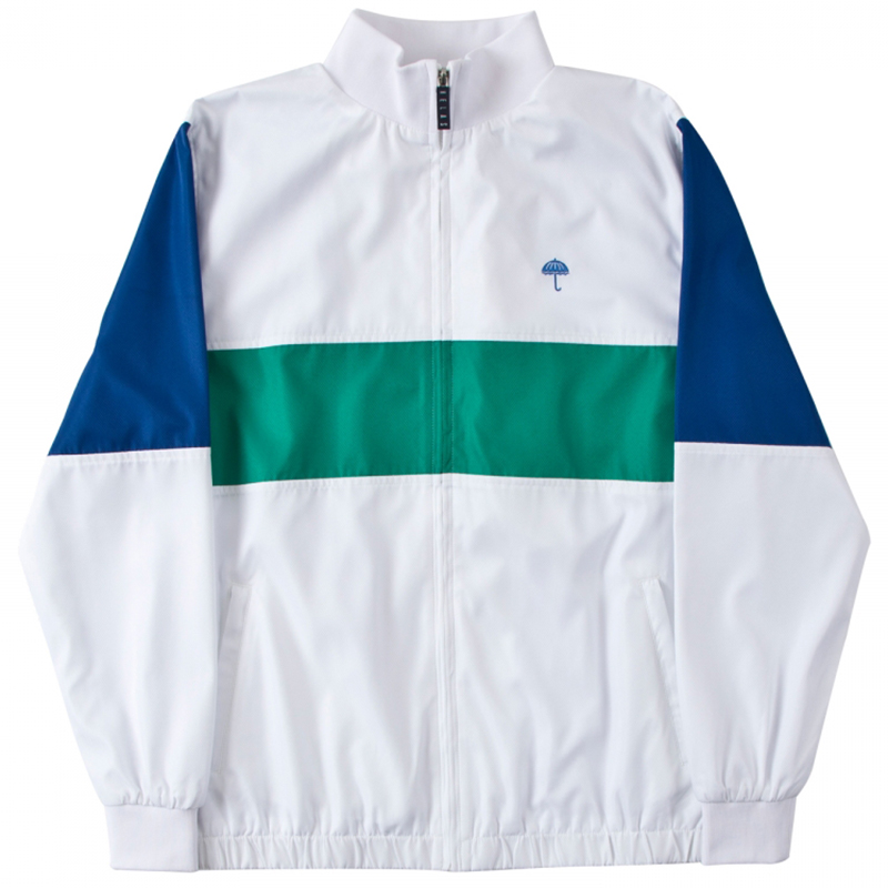 Helas Turbo Tracksuit Jacket White