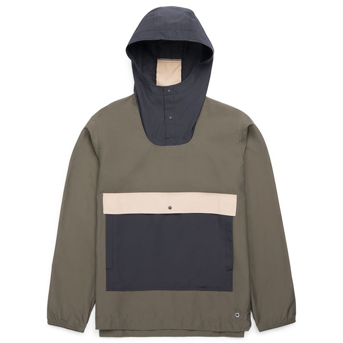 Herschel Voyage Anorak Forest Night/Black/Incense