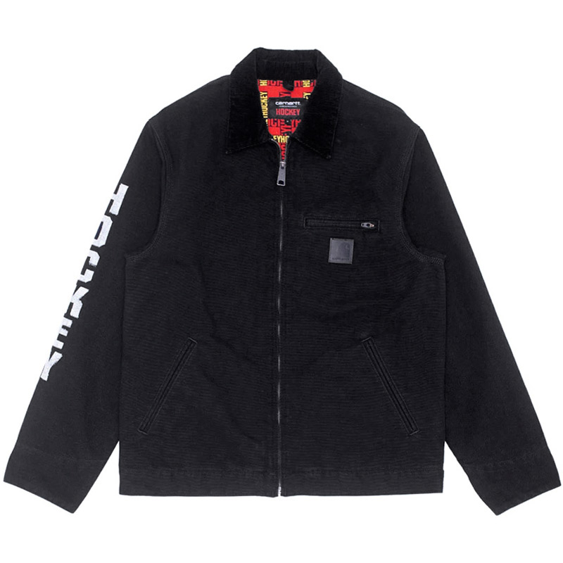 Hockey X Carhartt WIP Detroit Jacket Black