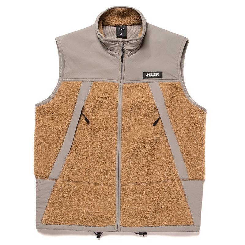 HUF Ansel Tech Vest Frost Gray