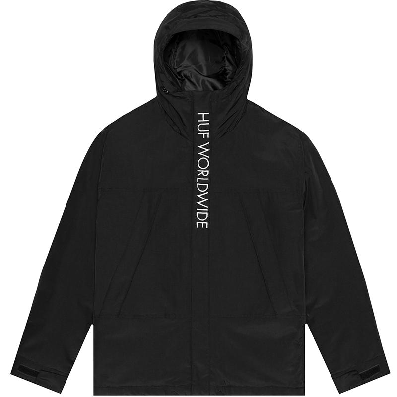 HUF Avalanche Parka Jacket Black