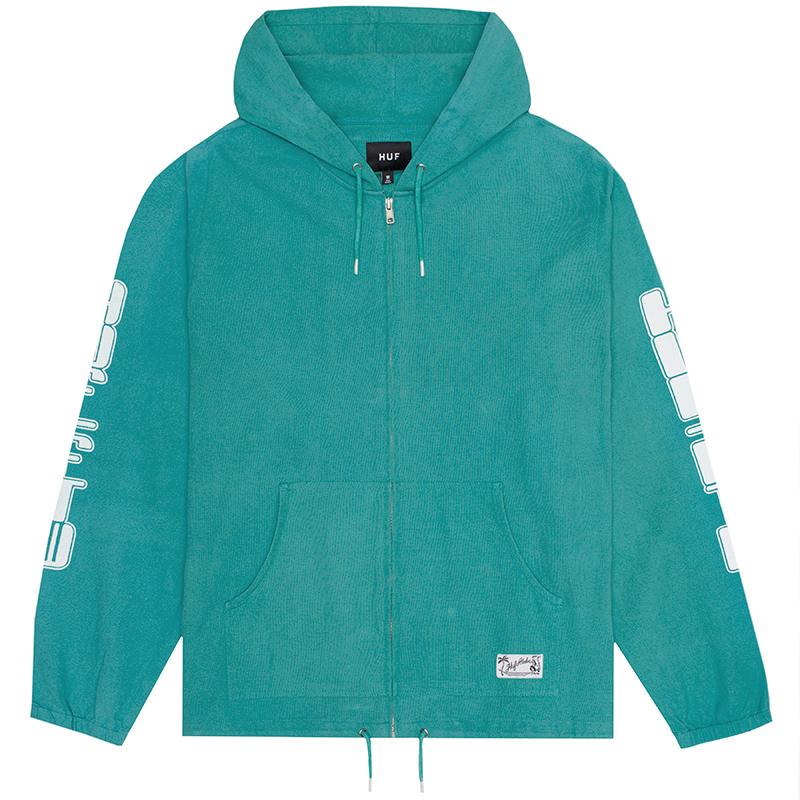 HUF Baja Jacket Bright Aqua