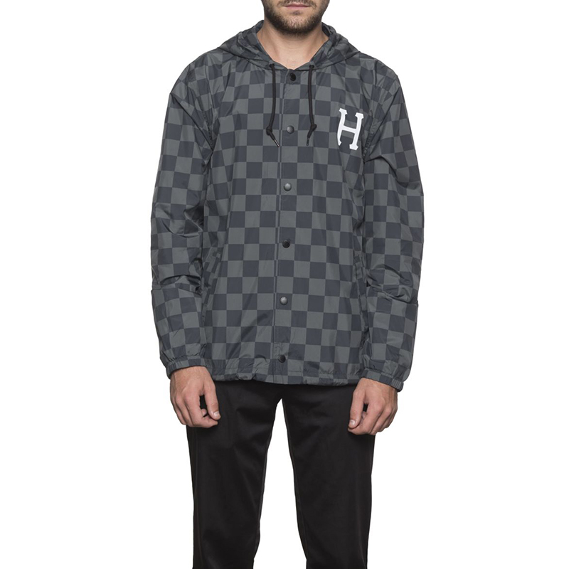HUF Blackout Coach Jacket Black