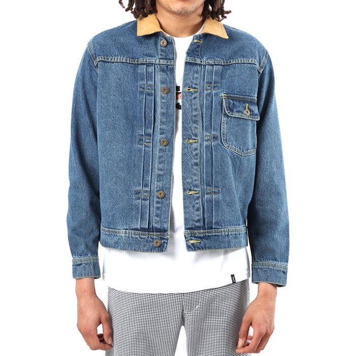 HUF Brooklyn Denim Jacket Light Blue