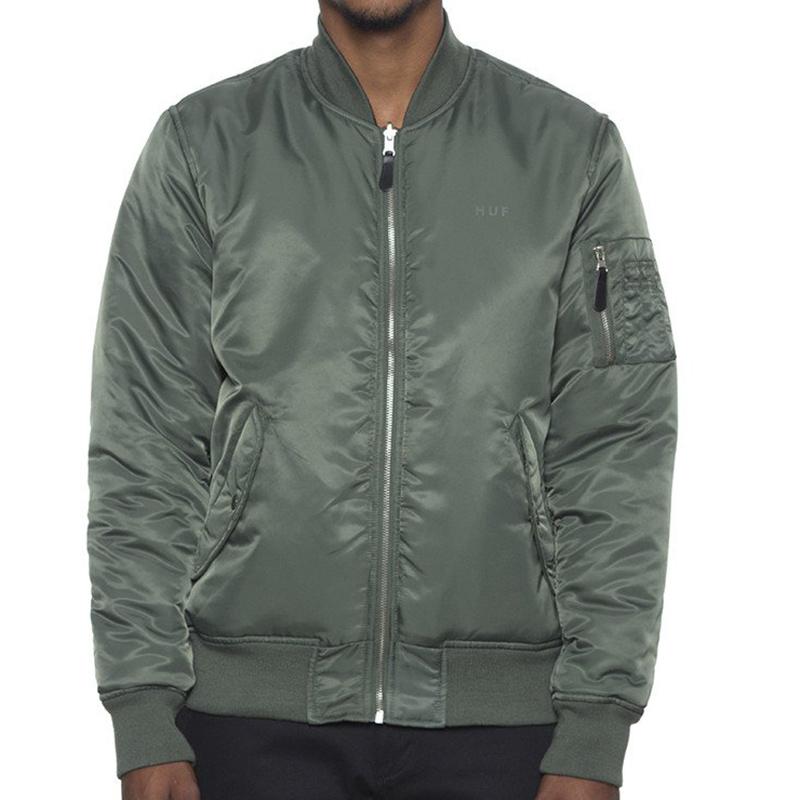 HUF Elite Reversible Ma-1 Jacket Olive Drab/Black