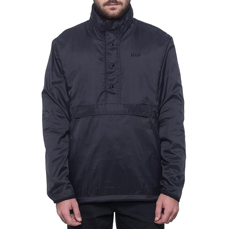 HUF Kumo Reversible 1/4 Zip Jacket Black