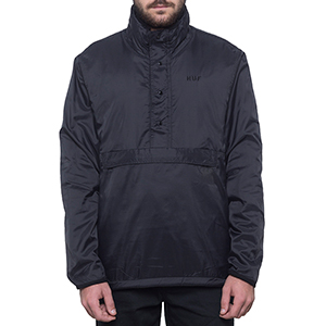 HUF Kumo Reversible 1/4 Zip Jacket Black