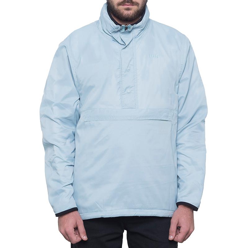 HUF Kumo Reversible 1/4 Zip Jacket Cloud Blue