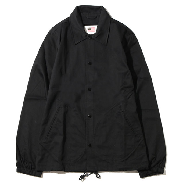 HUF MFG Station Jacket Black