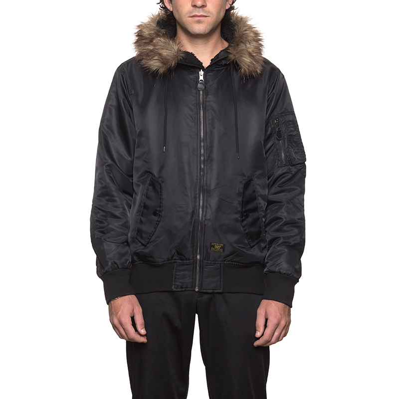 HUF N2B Jacket Black