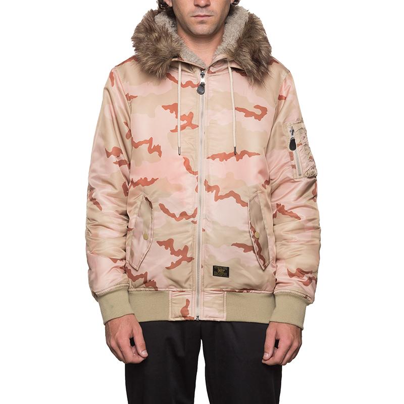 HUF N2B Jacket Camo