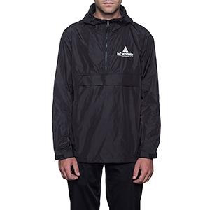HUF Peak Anorak Jacket Black