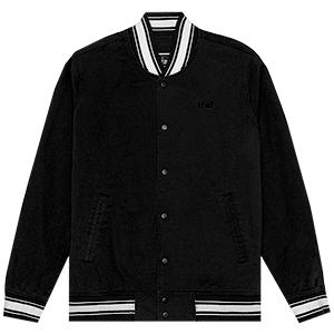 HUF Peep Show Varsity Jacket Birch