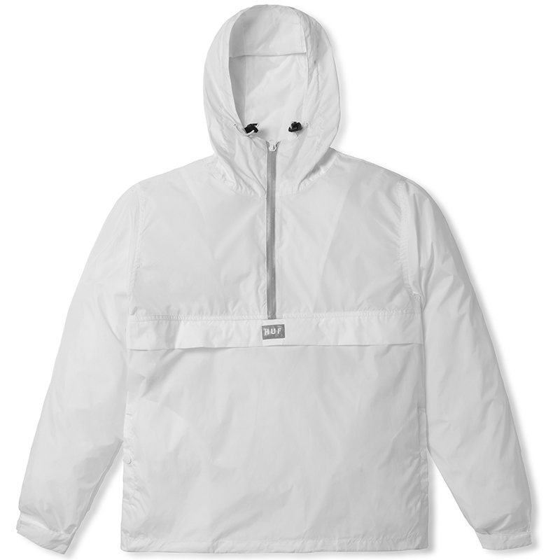 HUF Sequoia Anorak Jacket White